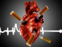 Курение — распространенная причина ИБС